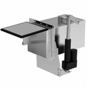 1081-34 Sidewinder Gate-Style Dump Valve - Stainless Steel