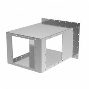 Mating Installation Triple Dump Tube 1414-34 - Stainless Steel
