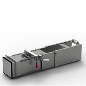 Special Length Telescopic Chute 4036-34-54 for Shortened Valve - Stainless Steel