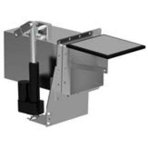 1086-34 Sidewinder Gate-Style Dump Valve - Stainless Steel