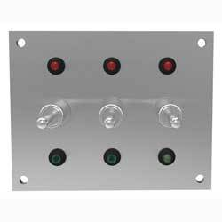 Indicator Lights & Plates - 5018L-SWPL6